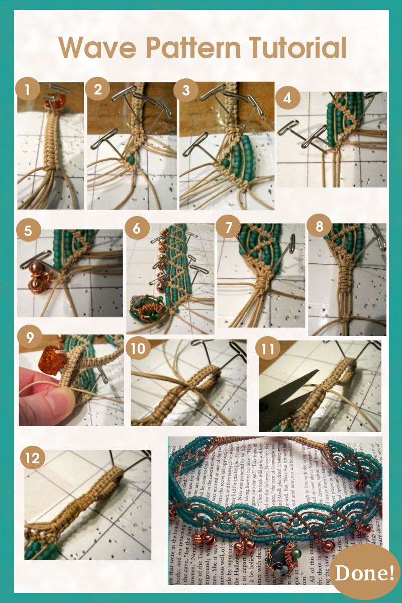 Macrame Wave Pattern Tutorial