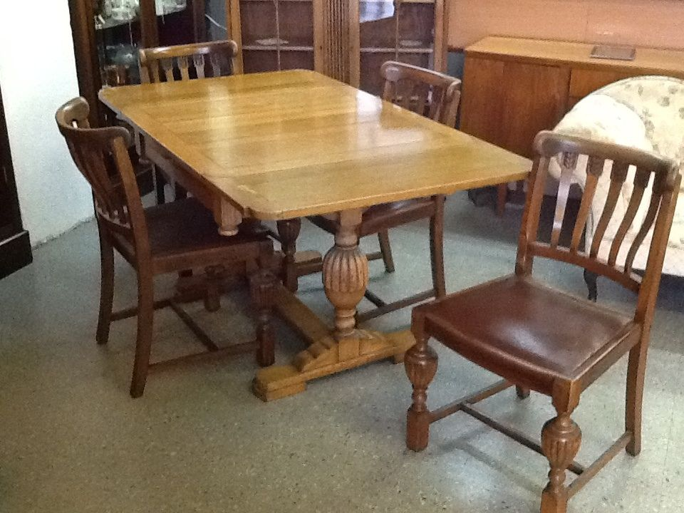 Art Deco Dining Table With 4 Matching Chairs 245 Dining Table Matching Chairs Art Deco