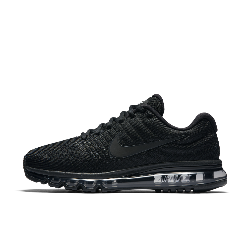 Air Max 2017 Black Running Sport Shoes for Men