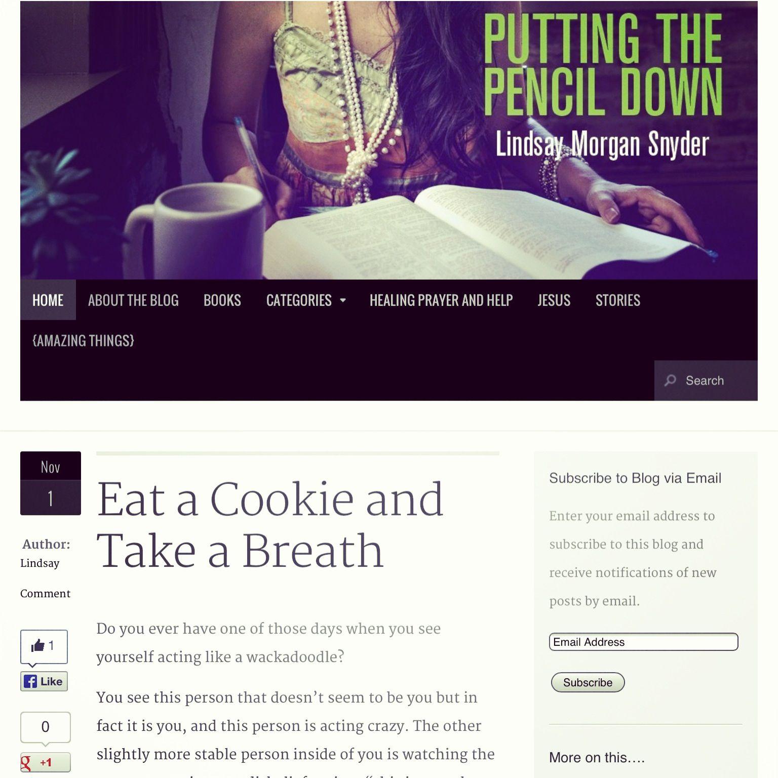 New Blog Post at Prayers