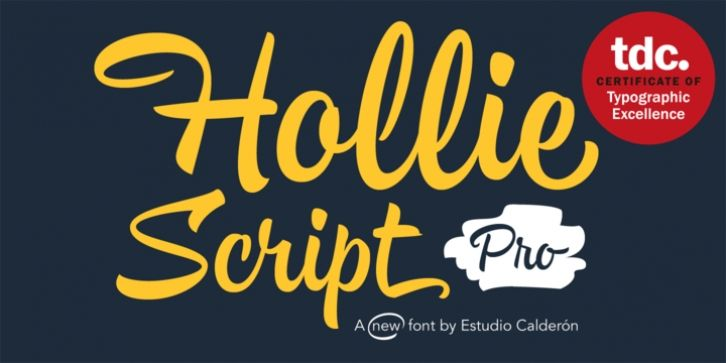 Hollie Script Pro font download | Fonts | Script fonts, Cool