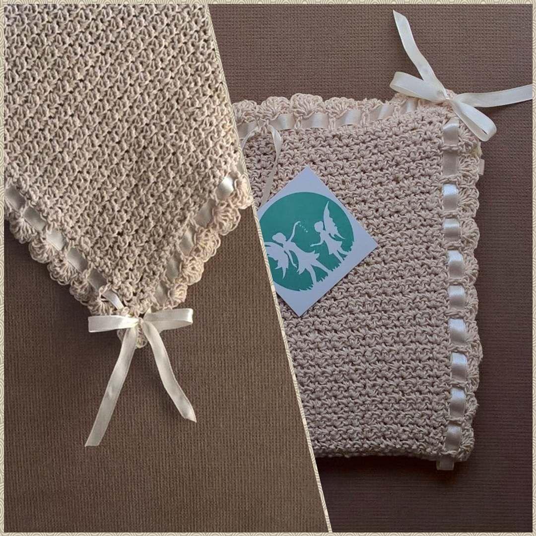vintage tiramisu scroller baby blanket! #handmade #crochet #baby #blanket #vintage #tiramisu