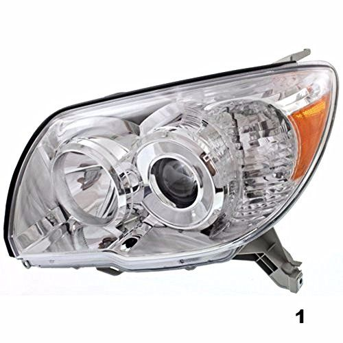 New Headlight Headlamp LH Driver Side Head Light Lamp with Bulbs 15851373