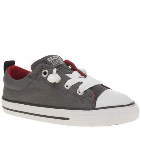boys grey converse