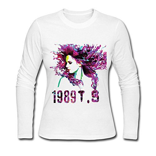 JIAYOUCT Women's Taylor Swift T.S 1989 Long Sleeve T-shirt Size S White JIAYOUCT http://www.amazon.com/dp/B0140OL00K/ref=cm_sw_r_pi_dp_OTe5vb1NQP4KW