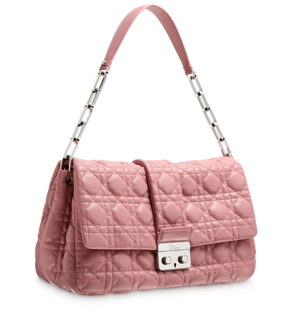 DIOR NEW LOCK - Borsa 'Dior New Lock' pink leather