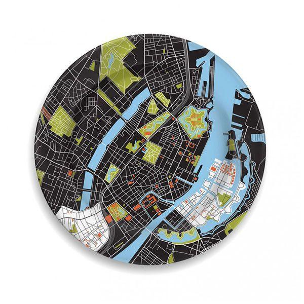 Copenhagen City Plate