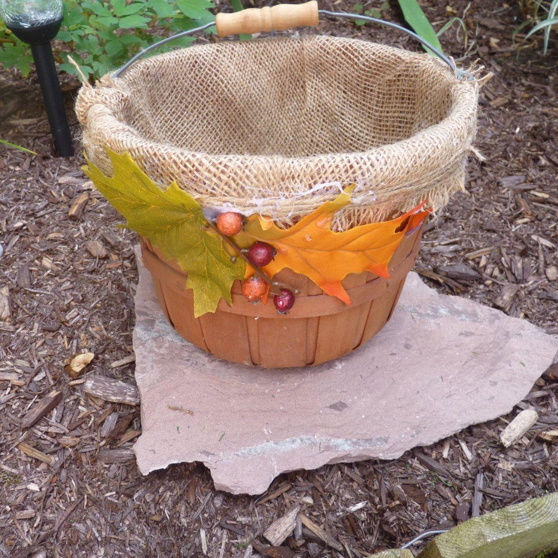 Best Free Of Charge Fall Bushel Basket Rustic Fall Wedding Basket