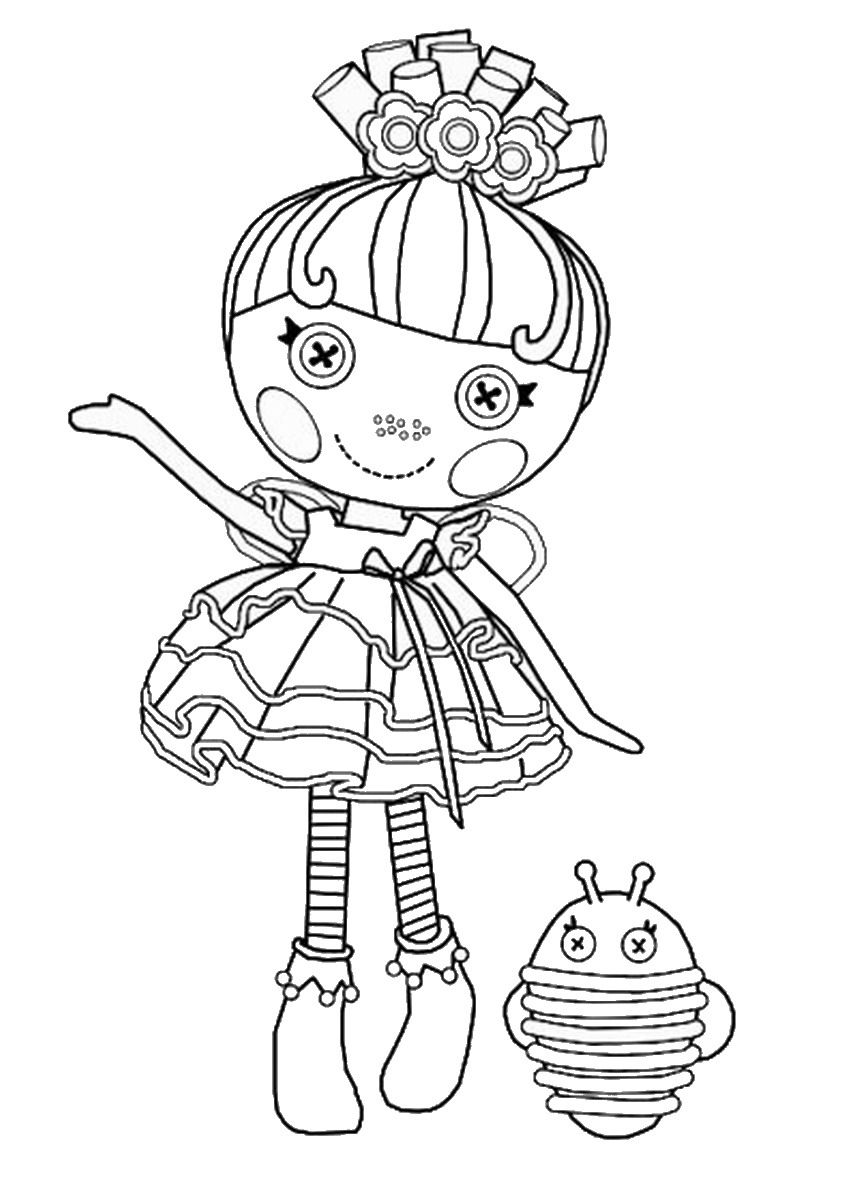 lalaloopsy coloring pages - Lalaloopsy Coloring Pages