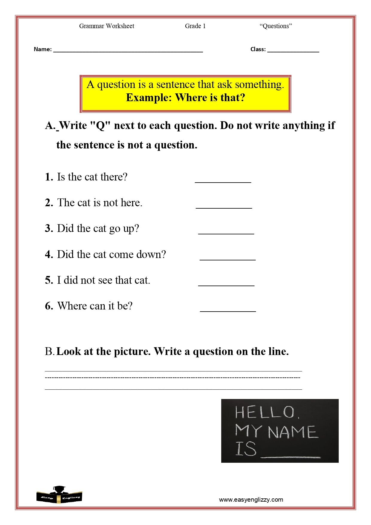Questions Worksheet This Or That Questions Printable English Worksheets Grammar Worksheets [ 1754 x 1241 Pixel ]