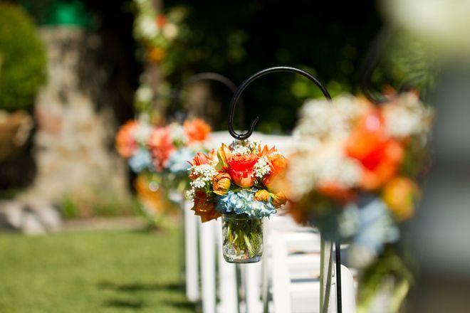 Blue + Orange Sonoma Wedding - Belle the Magazine . The Wedding Blog For The Sophisticated Bride