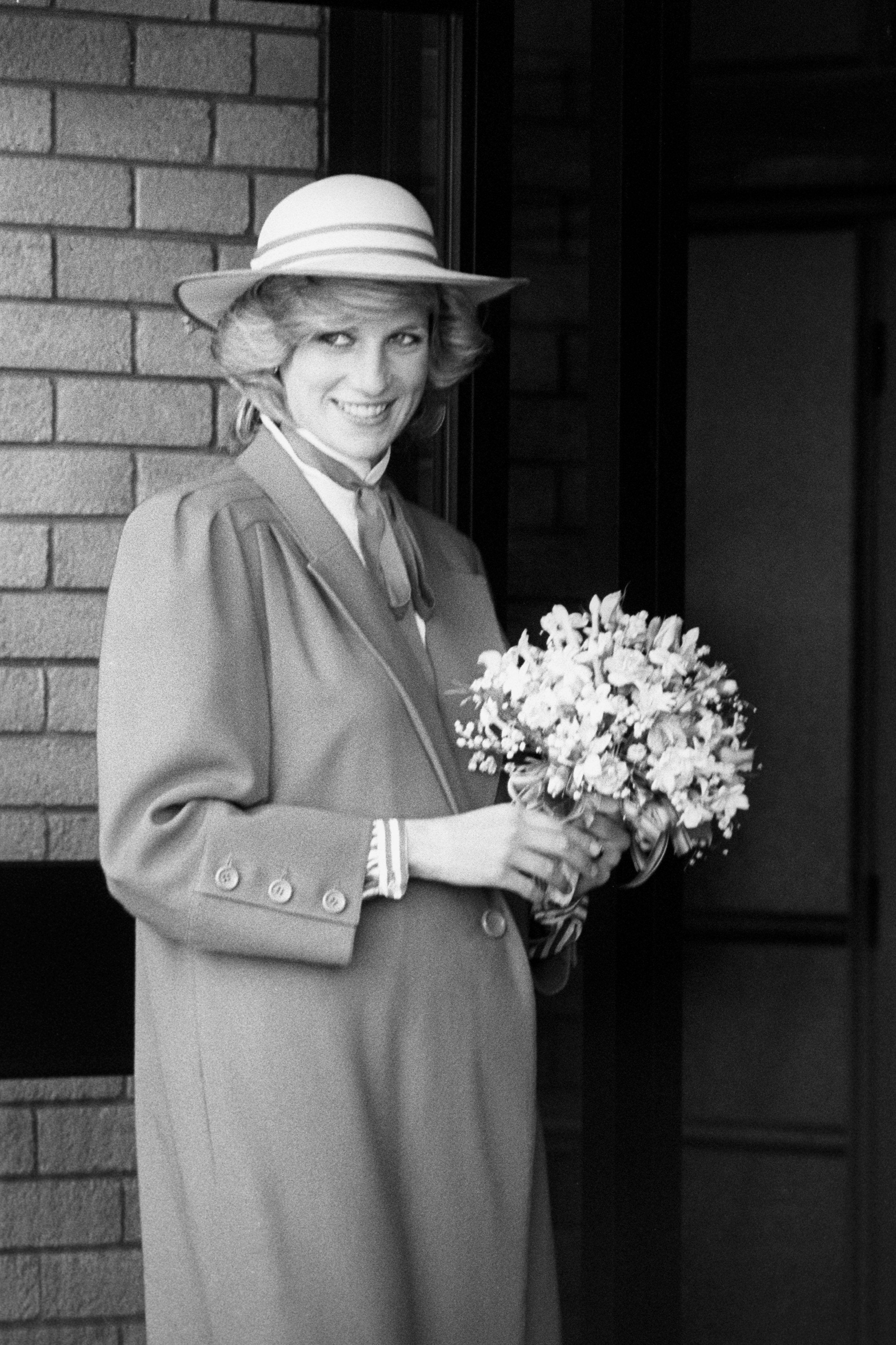 June 6, 1984 Princess Diana at the new Callard Bowser