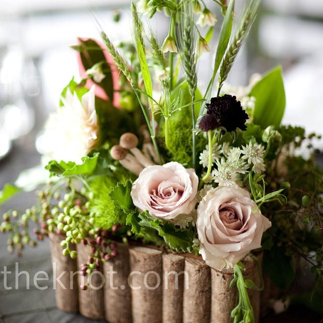 Forest Themed Floral Centerpieces Rustic Wedding Flowers Woodland Theme Wedding Rustic Flower Arrangements