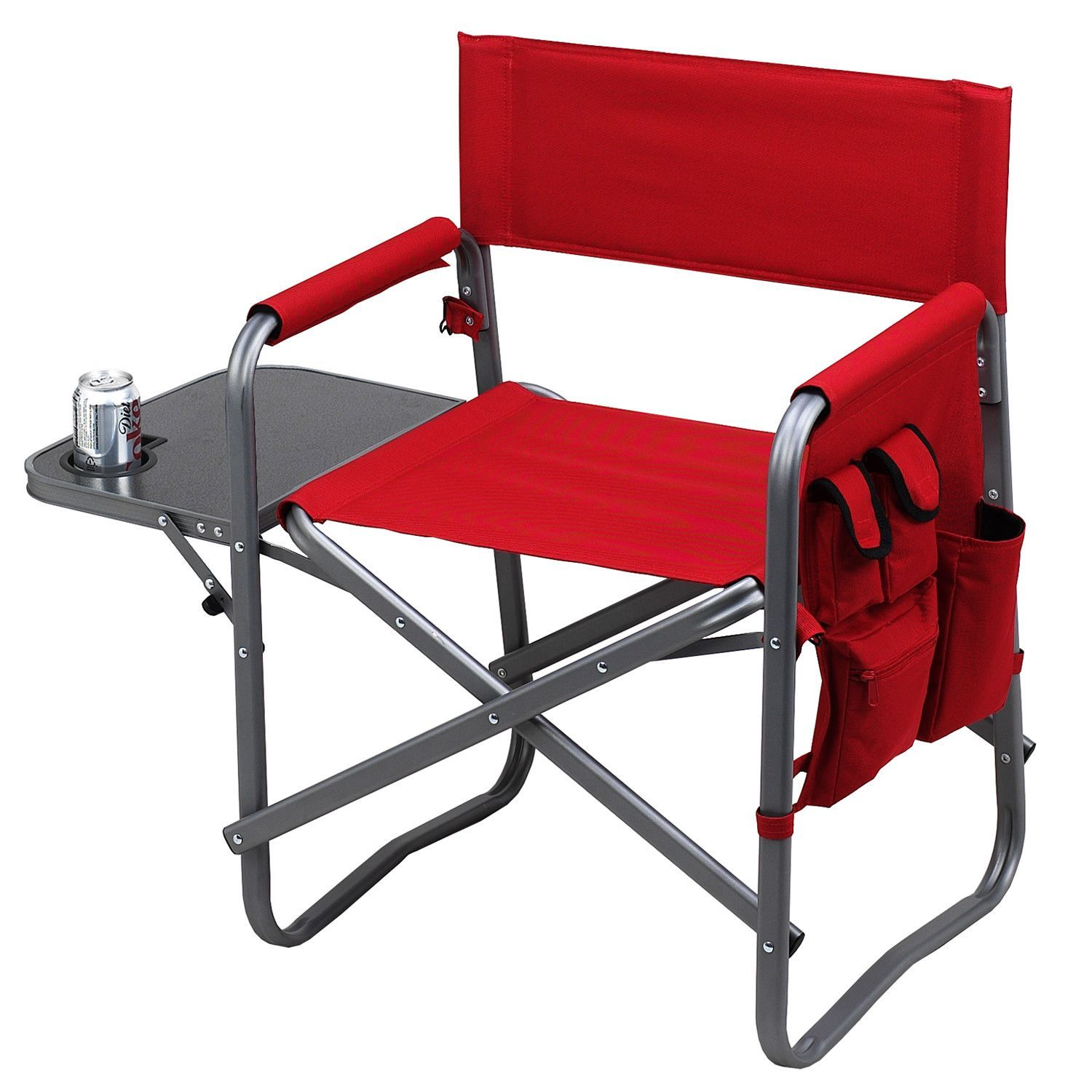 Director Chair with Table Folding chair, Directors chair