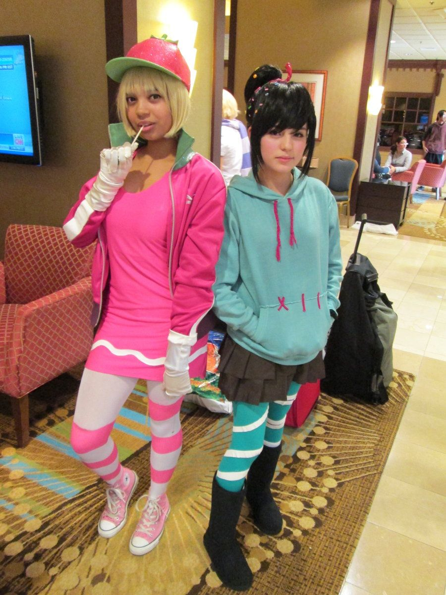 Sugar Rush: Taffyta and Vanellope by ~InuKid on deviantART ...