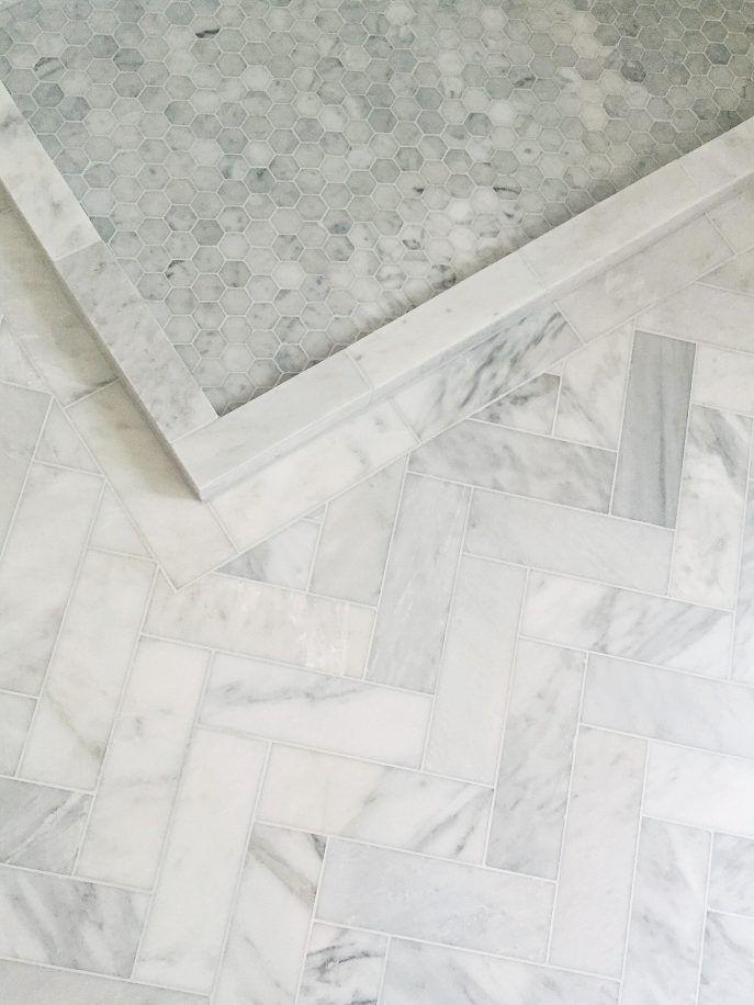 Bathroom Floor Marble Tiles