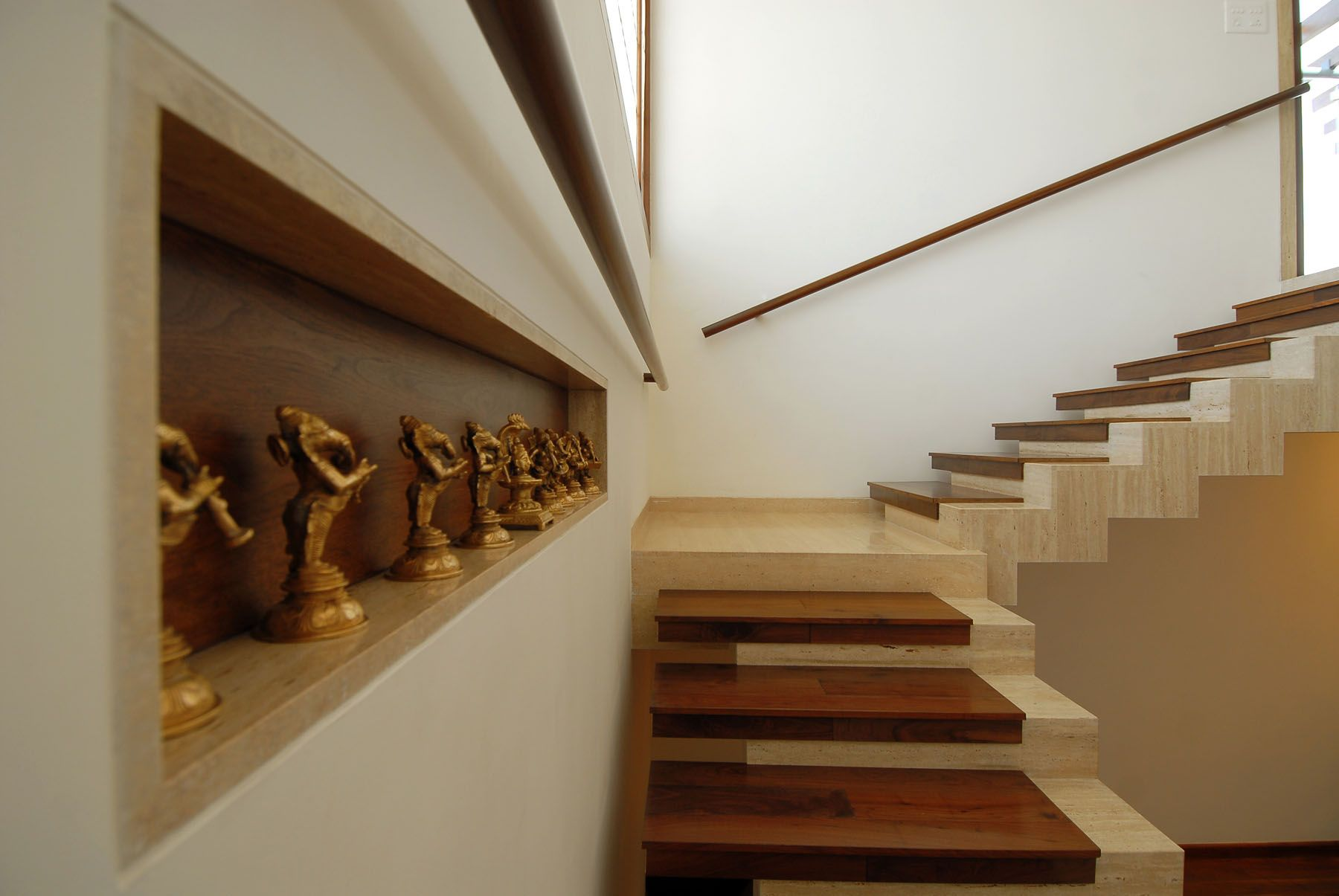 Kitchen cabinet doors in bangalore first time in india architect - Unique Stairs Bangalore Duplex Apartment By Zz Architects