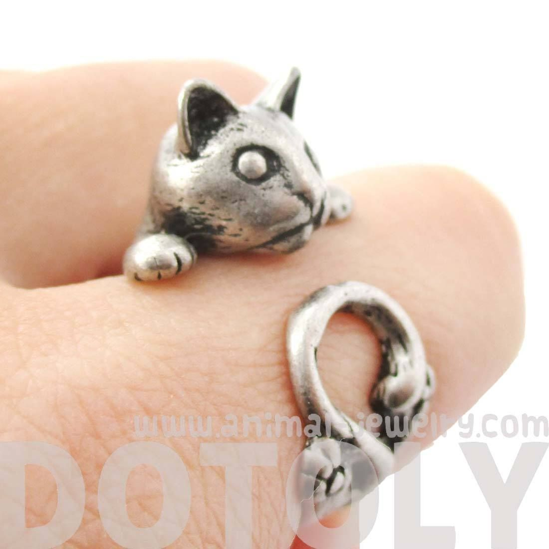 Details Sizing Shipping An animal themed ring made