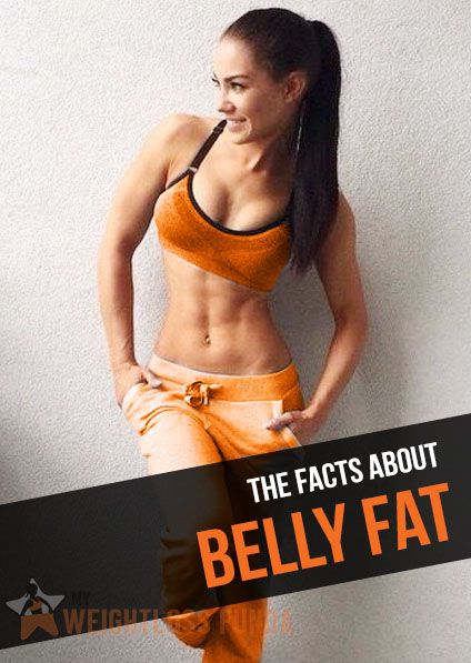 The Facts About Belly Fat : #weight_loss