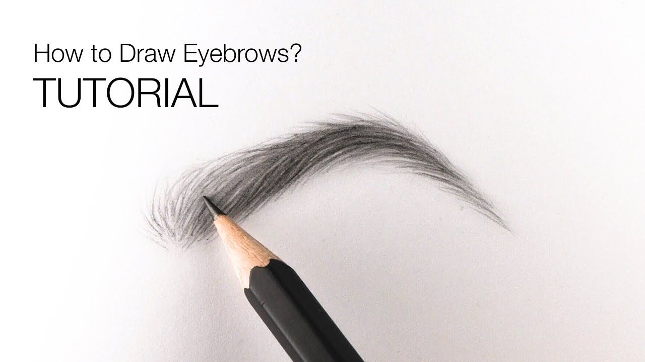 How to draw realistic eyebrows for BEGINNERS - EASY ...
