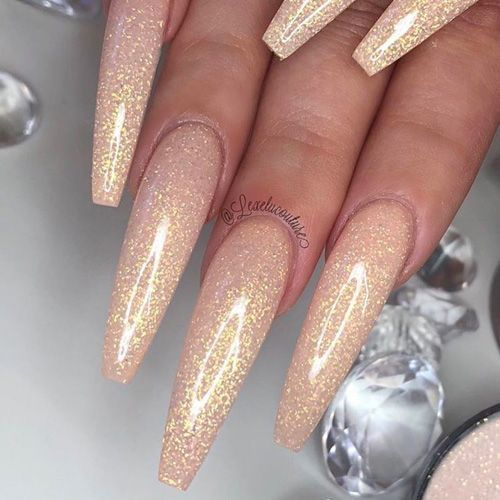 46 Attractive Nail Art Designs for Coffin Nails 2018 #attractive #designs #sargn … - Nail Design Ideas!