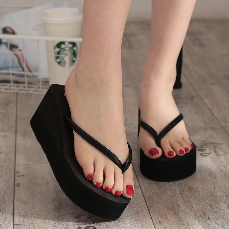 b7ac708830e47 New 2016 Summer Sexy Female Slippers Slip Flip Flops Beach Sandals Shoes  Fashionable Casual Sandals Female - CattleyaStore CattleyaStore