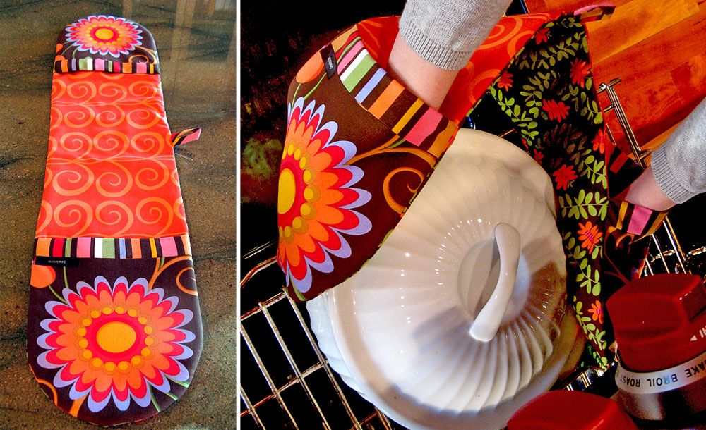 Double-Ended, Two-Handed Potholder | Sew4Home | Sewing | Pinterest ...