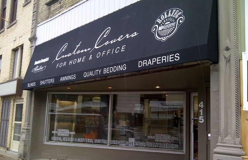 Custom Covers Stationary Awning Rolltec Retractable Awnings Toronto Ontario Canada Awning Retractable Awning Custom Windows