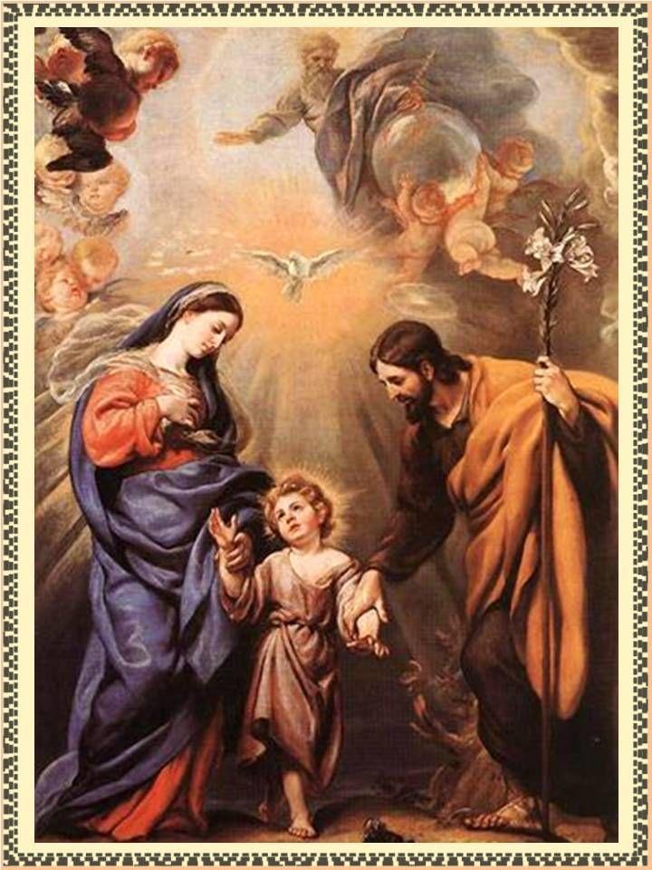 Sagrada Familia Oracion Para Problemas De Amor Trabajo Y Dinero En El Hogar Sagrada Familia De Nazaret Sagrada Familia De Nazareth Sagrada Familia