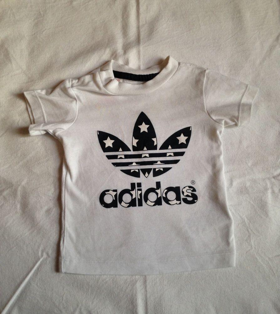 a5f024ed7ba7c T-shirt Adidas 6 mois bébé garçon 6 Mois