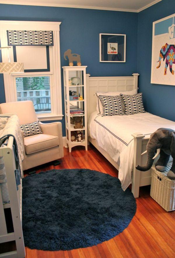 wohnideen fürs kinderzimmer - farbige interieur lösungen | rooms, Hause deko