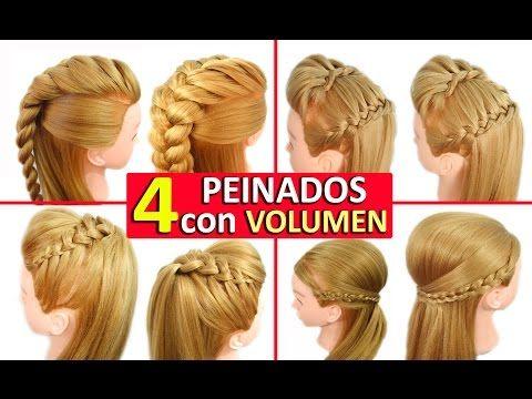 Peinados Faciles Y Rapidos Con Trenzas Con Volumen Tupe 4 Formas Diferentes Peinados Faciles Y Rapidos Peinados Con Trenzas Peinados Con Trenzas Faciles