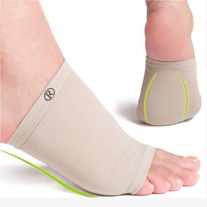 Orthotic  Fasciitis Pain Relief Insert Insoles Foot Care Support Gel Heel Pads