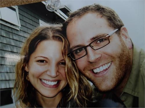 Josh Gates With His Girlfriend Turned Wife Hallie Gnatovich