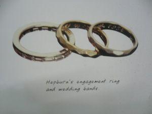Audrey Hepburn Celebrity Engagement Rings Audrey Hepburn