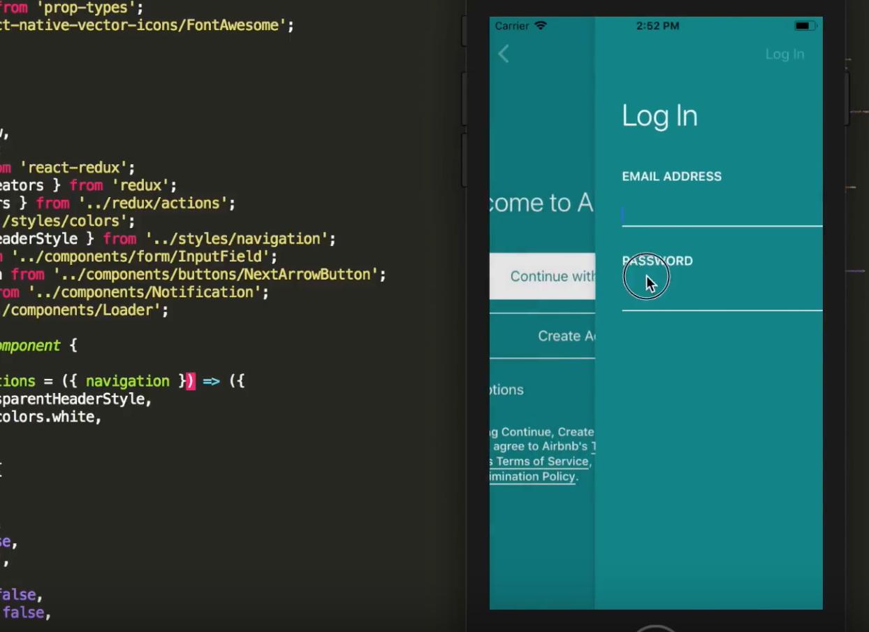 10 Airbnb Clone using React Native - Add Navigation | Design