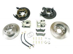 Teraflex 4354420 Rear Disc Brake Kit For 91 06 Jeep Cherokee Xj
