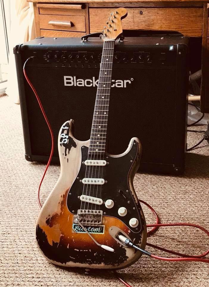 Fender Stratocaster #fenderguitars