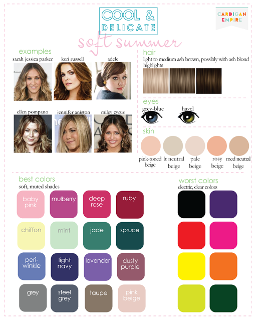 Pin by Rachel Cooper on Fashion  Soft summer color palette, Soft