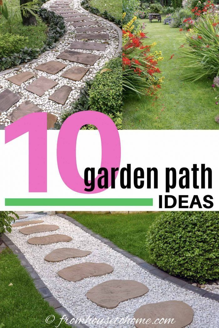 Photo of Garden Path Ideas: 10 Ways To Create A Beautiful Walkway – Gardening @ From Hous…