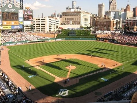 Comerica Park in downtown Detroit, MI Stadiums, Ballparks and
