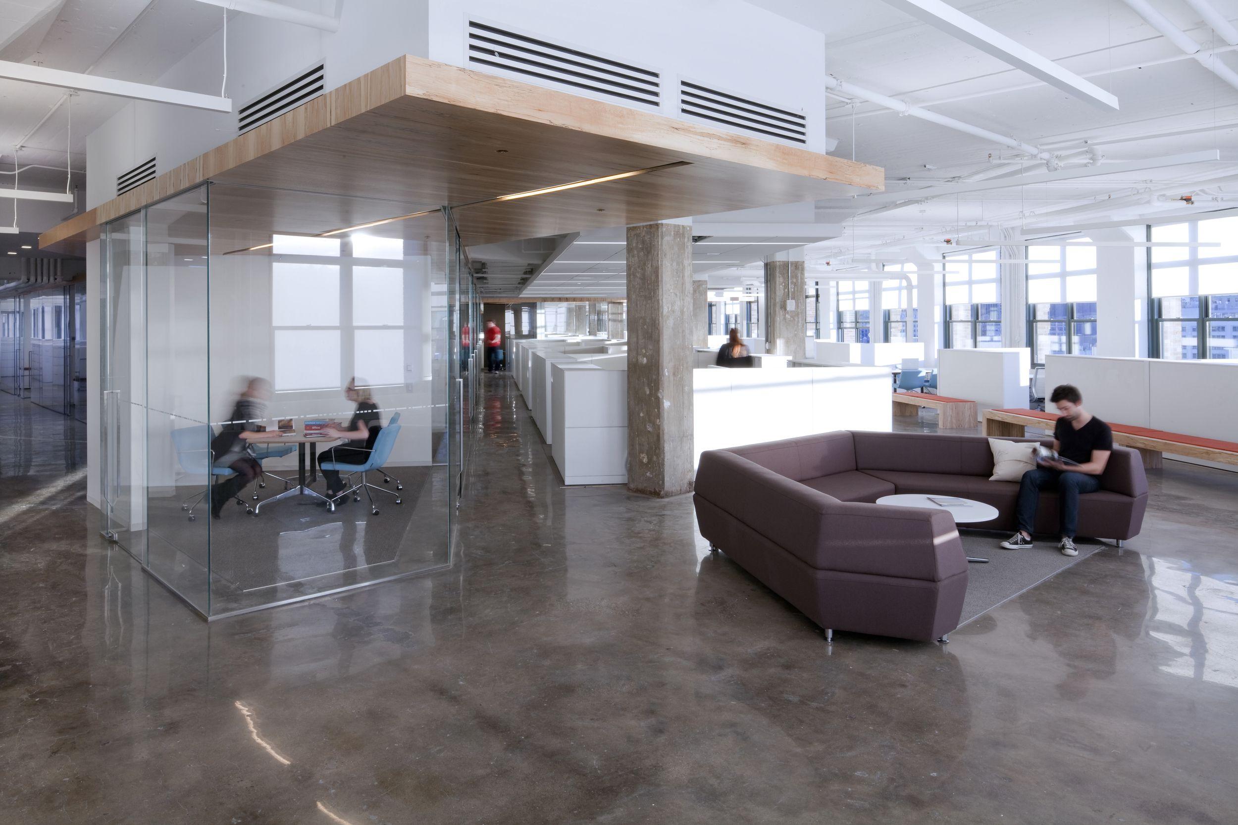 horizon media office. Horizon Media, New York City, An Office Space Made By A+I. Media