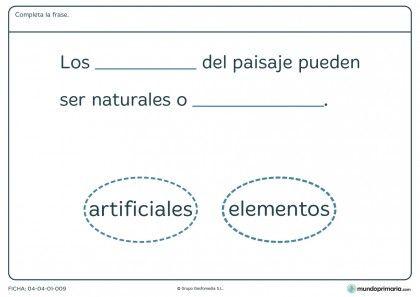 Fichas Para Imprimir Para Niños De Primaria Fichas De Ciencias