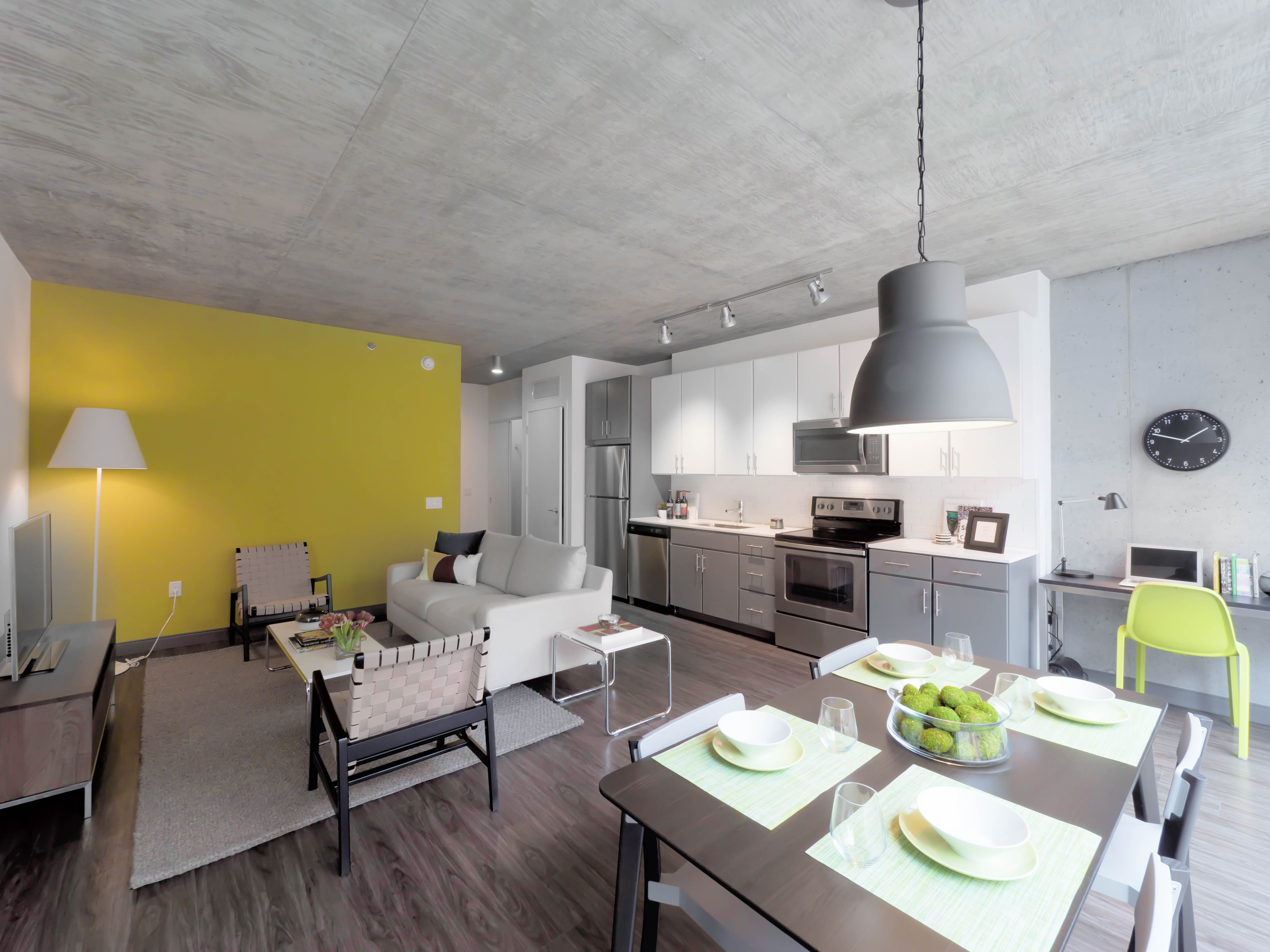Linea Apartments For Rent Chicago Contemporary Apartment Decor One Bedroom Apartment 2 Bedroom Apartment