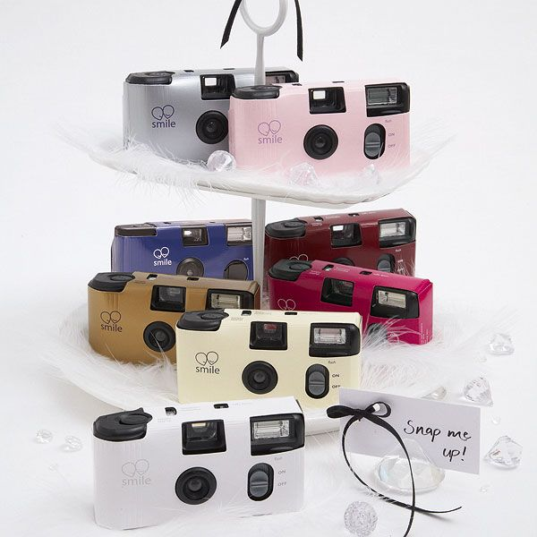Disposable Colored Wedding Cameras Come In A Variety Of Colors Choose The Camera That Best Matches Your Or Event Theme