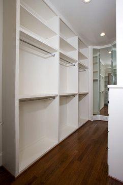 Long Narrow Closet More