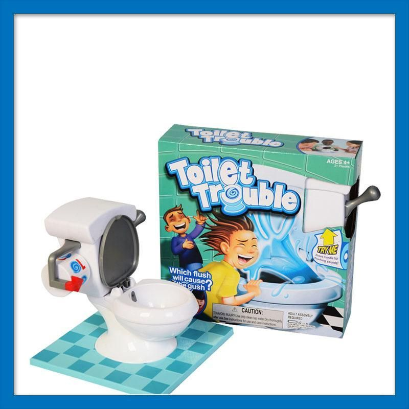 Toilet Trouble toilet base game | Products | Toilet, Games, Toilet