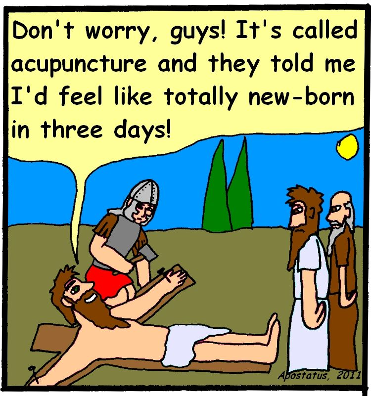 Holy Acupuncture! (With images) Acupuncture, Funny