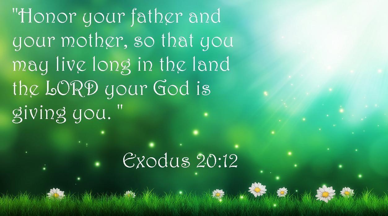 Honor Your Parents Quotes. QuotesGram