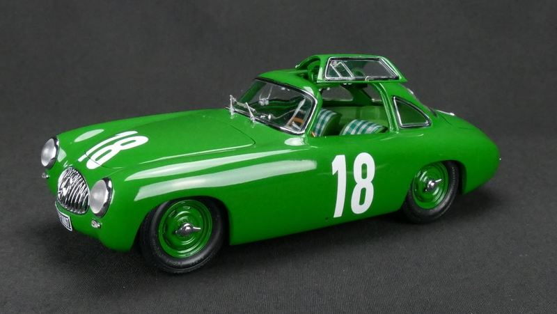 1952 Mercedes 300 SL Great Price of Bern GP #18 Karl Kling 1/18 Diecast Model Car CMC M-158